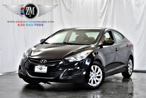2013 Hyundai Elantra for sale at ZONE MOTORS in Addison IL