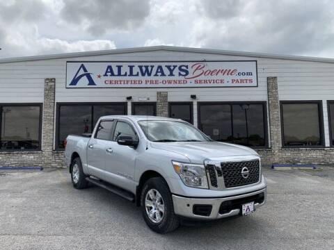 2018 Nissan Titan for sale at ATASCOSA CHRYSLER DODGE JEEP RAM in Pleasanton TX
