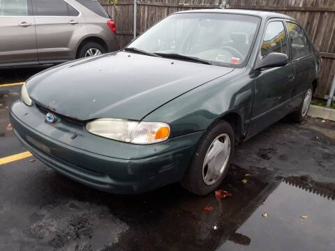 2002 Chevrolet Prizm for sale at Autos Under 5000 + JR Transporting in Island Park NY