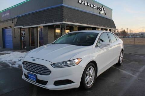 2016 Ford Fusion for sale at Apex Motors in Murray UT