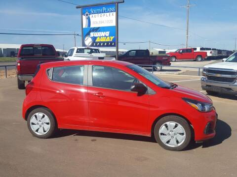 2017 Chevrolet Spark for sale at South Plains Autoplex by RANDY BUCHANAN in Lubbock TX