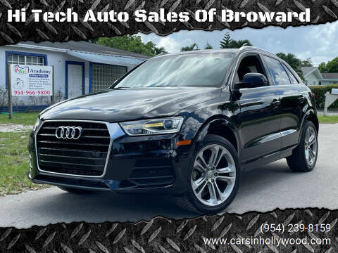 2016 Audi Q3 for sale at Hi Tech Auto Sales Of Broward in Hollywood FL