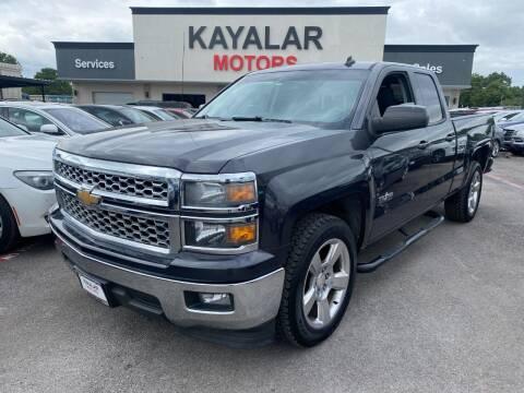 2014 Chevrolet Silverado 1500 for sale at KAYALAR MOTORS in Houston TX