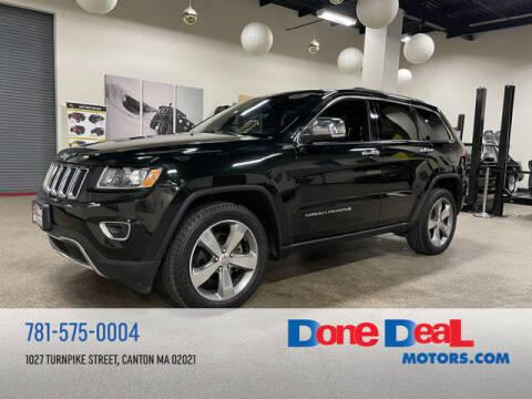 2014 Jeep Grand Cherokee for sale at DONE DEAL MOTORS in Canton MA