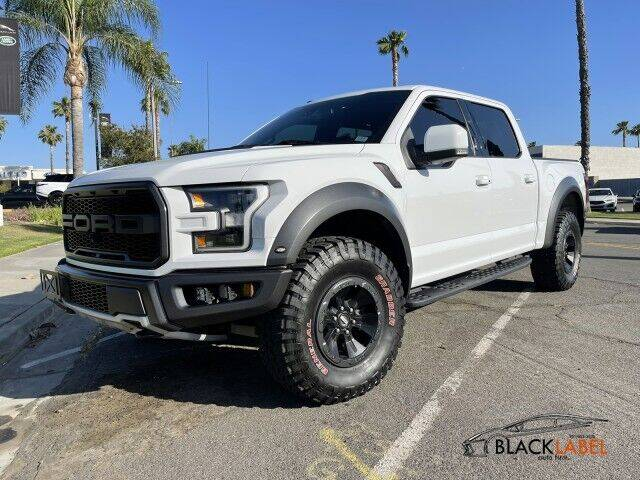 2018 Ford F-150 for sale at BLACK LABEL AUTO FIRM in Riverside CA