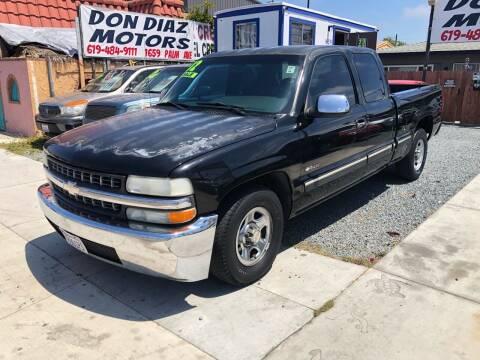 2002 Chevrolet Silverado 1500 for sale at DON DIAZ MOTORS in San Diego CA