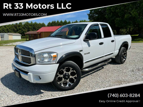 2008 Dodge Ram Pickup 1500 for sale at Rt 33 Motors LLC in Rockbridge OH