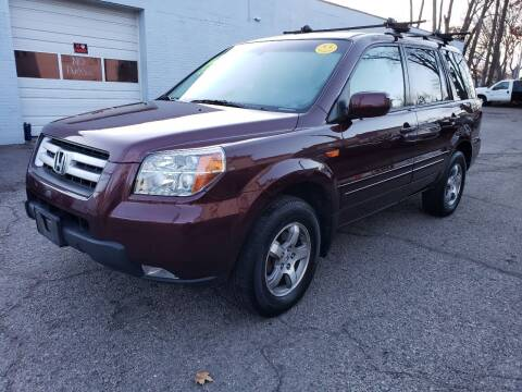 2007 Honda Pilot for sale at Devaney Auto Sales & Service in East Providence RI