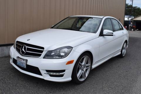 2014 Mercedes-Benz C-Class for sale at Global Elite Motors LLC in Wenatchee WA