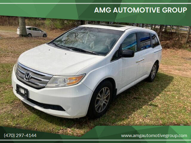 2012 Honda Odyssey for sale at AMG Automotive Group in Cumming GA