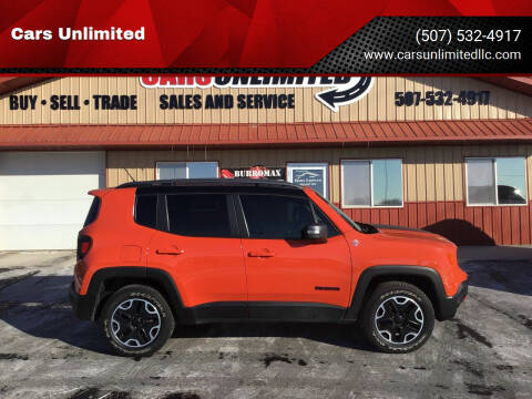 2015 Jeep Renegade for sale at Cars Unlimited in Marshall MN