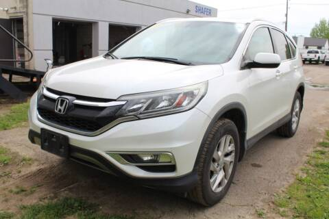 2015 Honda CR-V for sale at SHAFER AUTO GROUP in Columbus OH