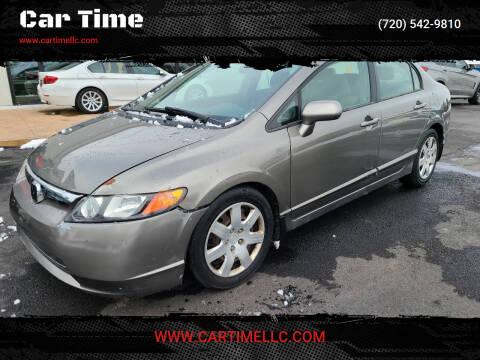 2007 Honda Civic for sale at Car Time in Denver CO