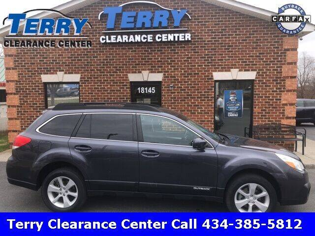2013 Subaru Outback for sale at Terry Clearance Center in Lynchburg VA