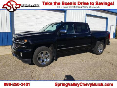 2017 Chevrolet Silverado 1500 for sale at Spring Valley Chevrolet Buick in Spring Valley MN