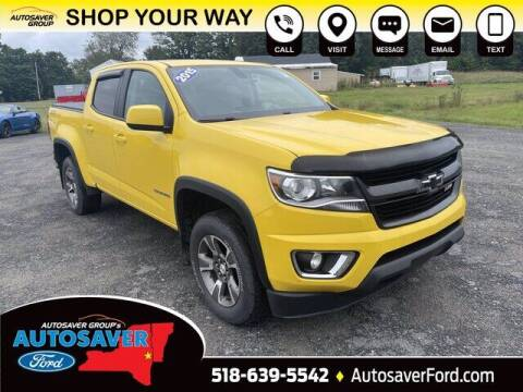 2015 Chevrolet Colorado for sale at Autosaver Ford in Comstock NY