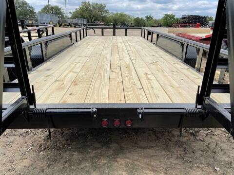"""2021 TIGER  - EQUIPMENT 83"""" X 18' -  for sale at LJD Sales in Lampasas TX"""