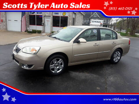 2006 Chevrolet Malibu for sale at Scotts Tyler Auto Sales in Wilmington IL