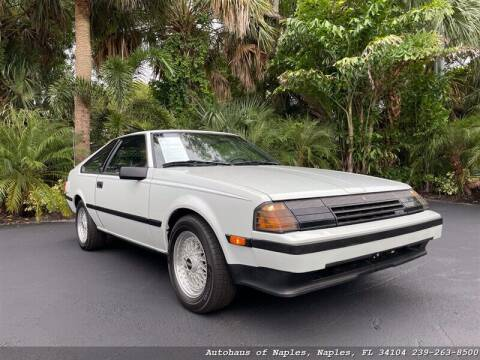1984 Toyota Celica for sale at Autohaus of Naples in Naples FL