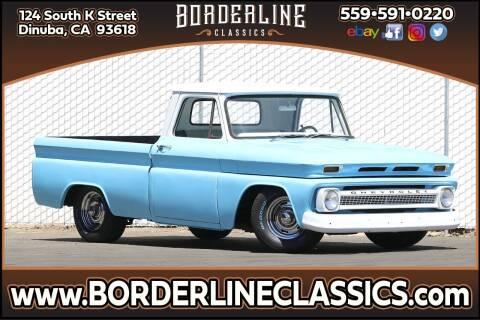 1966 Chevrolet C/K 1500 Series for sale at Borderline Classics in Dinuba CA