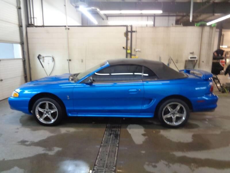 1998 Ford Mustang SVT Cobra for sale at Herman Motors in Luverne MN