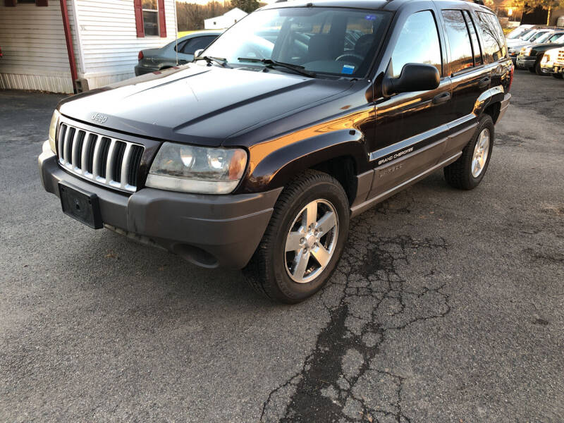 2004 Jeep Grand Cherokee for sale at CENTRAL AUTO SALES LLC in Norwich NY