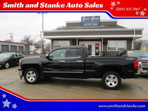2014 Chevrolet Silverado 1500 for sale at Smith and Stanke Auto Sales in Sturgis MI