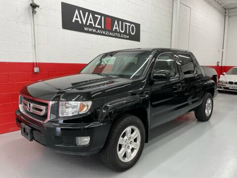 2010 Honda Ridgeline for sale at AVAZI AUTO GROUP LLC in Gaithersburg MD
