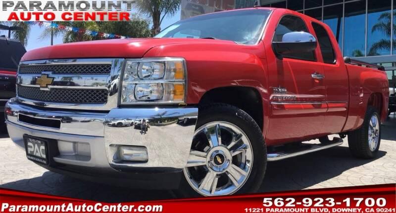2012 Chevrolet Silverado 1500 for sale at PARAMOUNT AUTO CENTER in Downey CA