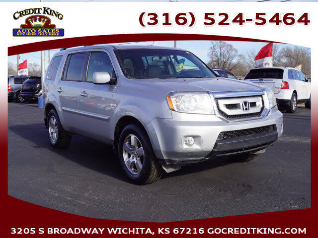 2011 Honda Pilot for sale at Credit King Auto Sales in Wichita KS
