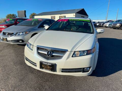 2008 Acura TL for sale at BELOW BOOK AUTO SALES in Idaho Falls ID