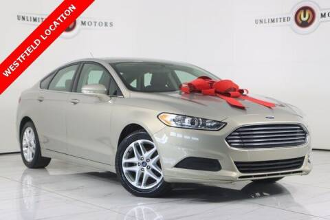 2015 Ford Fusion for sale at INDY'S UNLIMITED MOTORS - UNLIMITED MOTORS in Westfield IN