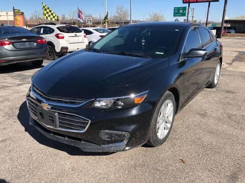 2017 Chevrolet Malibu for sale at Ital Auto in Oklahoma City OK