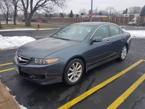 2008 Acura TSX for sale at Capital Fleet  & Remarketing  Auto Finance in Columbia Heights MN