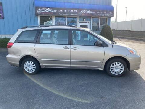2005 Toyota Sienna for sale at Platinum Auto in Abington MA