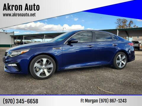 2019 Kia Optima for sale at Akron Auto - Fort Morgan in Fort Morgan CO