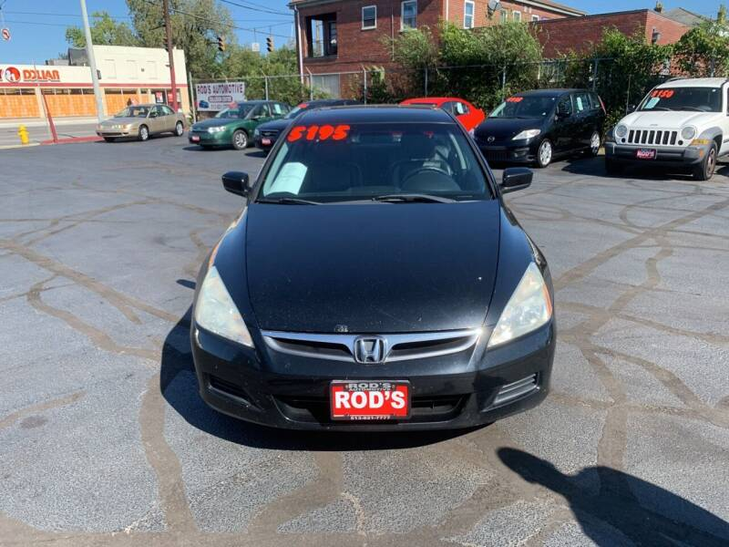 2007 Honda Accord for sale at Rod's Automotive in Cincinnati OH