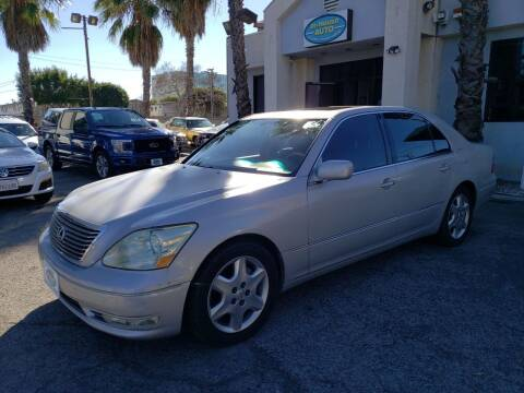 2004 Lexus LS 430 for sale at In-House Auto Finance in Hawthorne CA