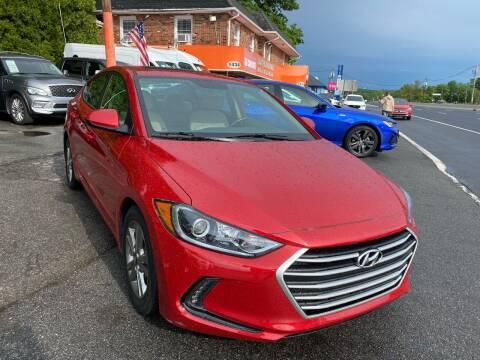 2018 Hyundai Elantra for sale at Bloomingdale Auto Group in Bloomingdale NJ
