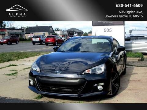 2013 Subaru BRZ for sale at Alpha Luxury Motors in Downers Grove IL