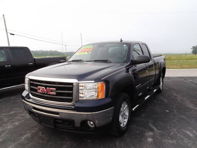 2011 GMC Sierra 1500 for sale at Dietsch Sales & Svc Inc in Edgerton OH