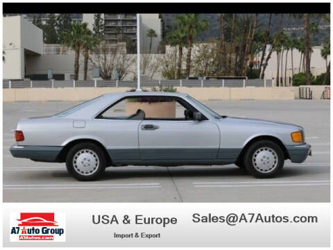 1985 Mercedes-Benz 500-Class for sale at A7 AUTO SALES in Holly Hill FL