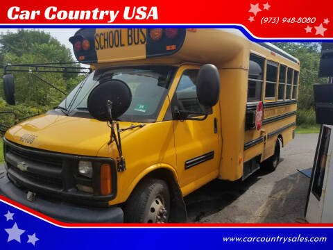 2004 Chevrolet Express Cutaway for sale at Car Country USA in Augusta NJ