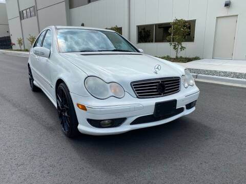 2005 Mercedes-Benz C-Class for sale at Washington Auto Sales in Tacoma WA