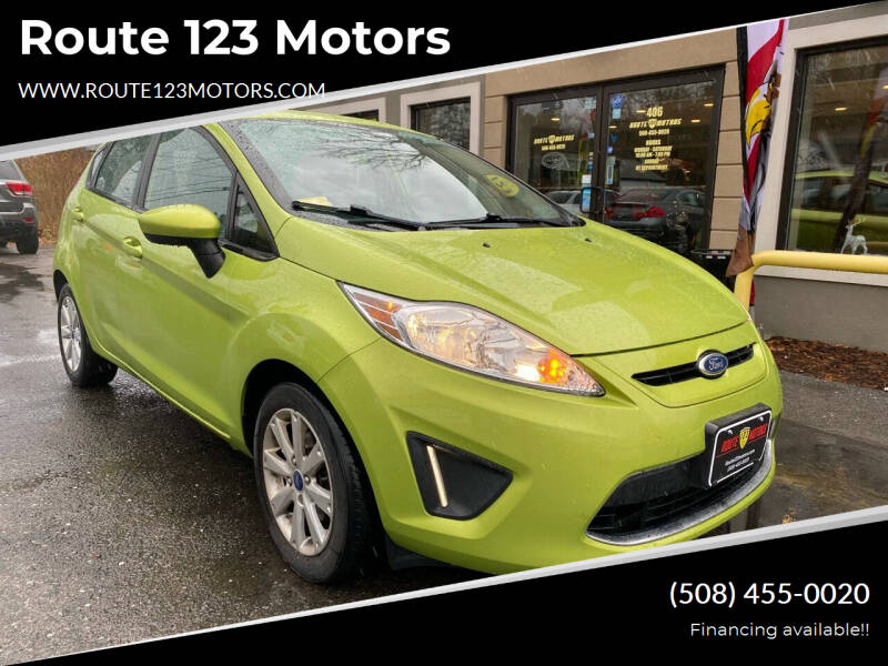 2011 Ford Fiesta for sale at Route 123 Motors in Norton MA
