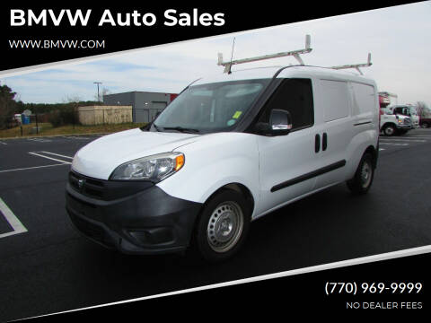 2016 RAM ProMaster City Cargo for sale at BMVW Auto Sales - Trucks and Vans in Union City GA