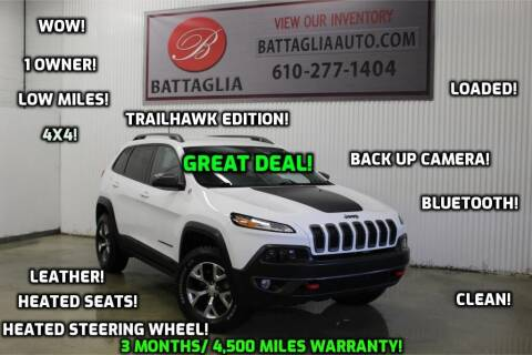 2017 Jeep Cherokee for sale at Battaglia Auto Sales in Plymouth Meeting PA