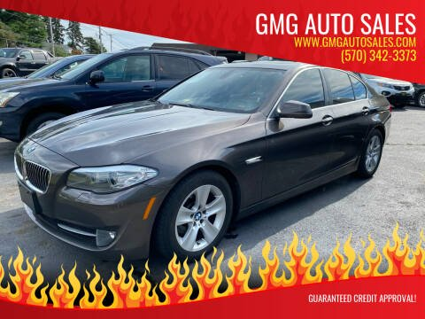 2011 BMW 5 Series for sale at GMG AUTO SALES in Scranton PA