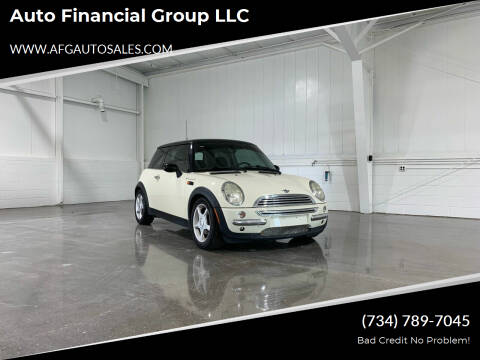 2003 MINI Cooper for sale at Auto Financial Group LLC in Flat Rock MI