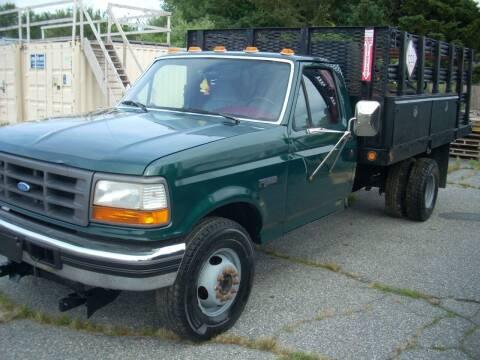 1996 Ford F-450 for sale at SODA MOTORS AUTO SALES LLC in Newport RI